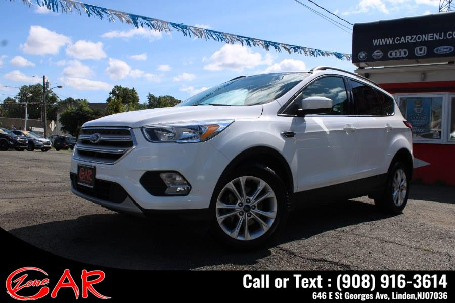 Used Ford Escape SE AWD 2018   Car Zone. Linden, New Jersey