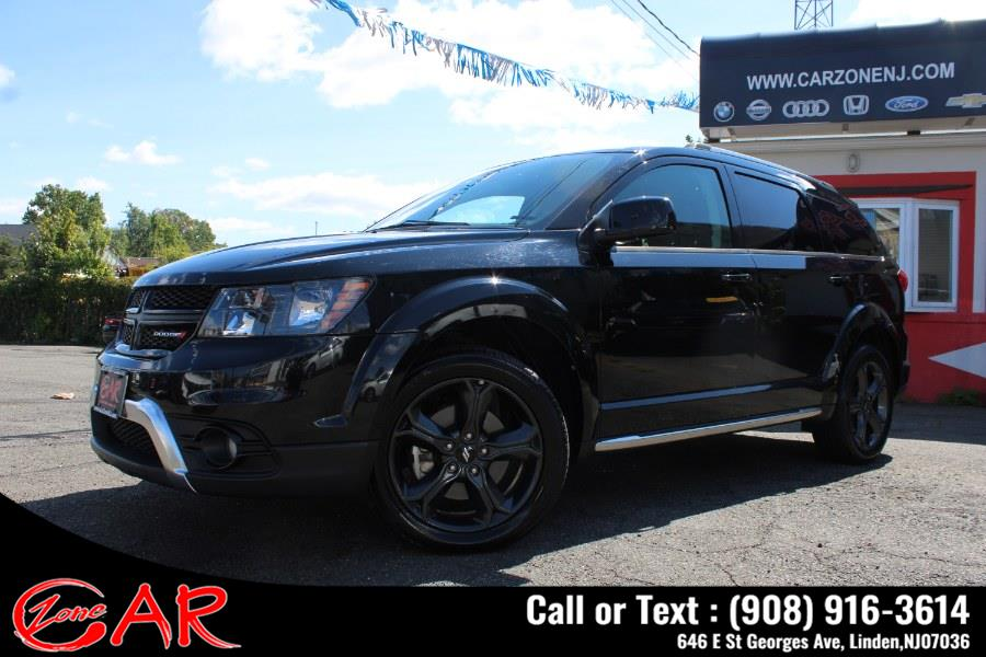 Used Dodge Journey Crossroad AWD 2019 | Car Zone. Linden, New Jersey