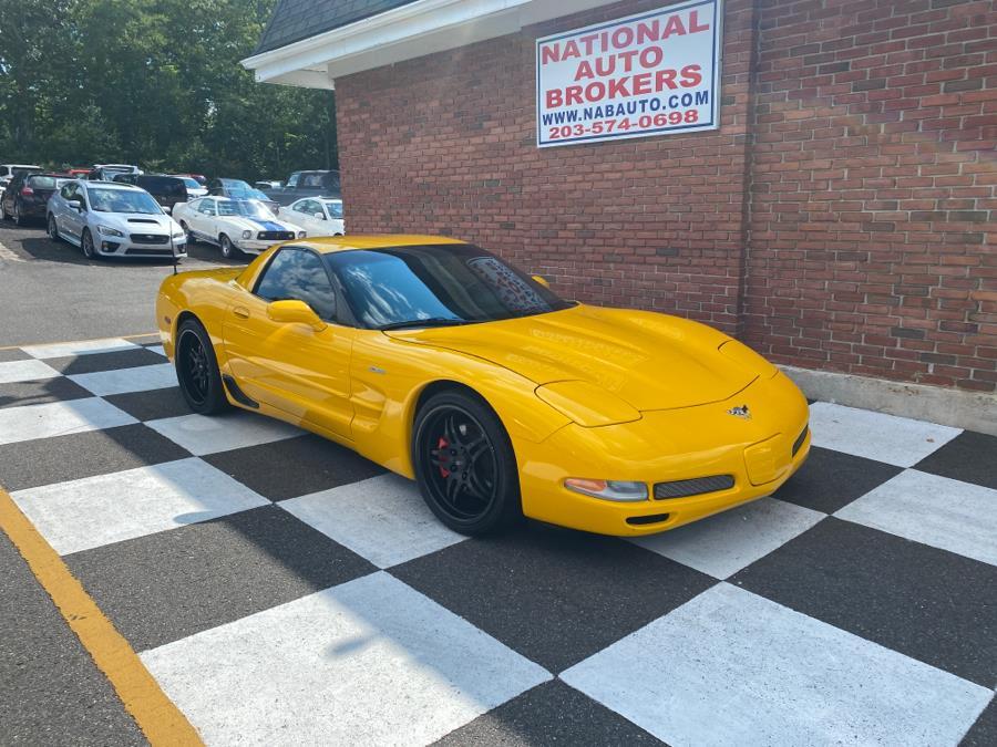 Used Chevrolet Corvette 2dr Z06 Hardtop 2003 | National Auto Brokers, Inc.. Waterbury, Connecticut