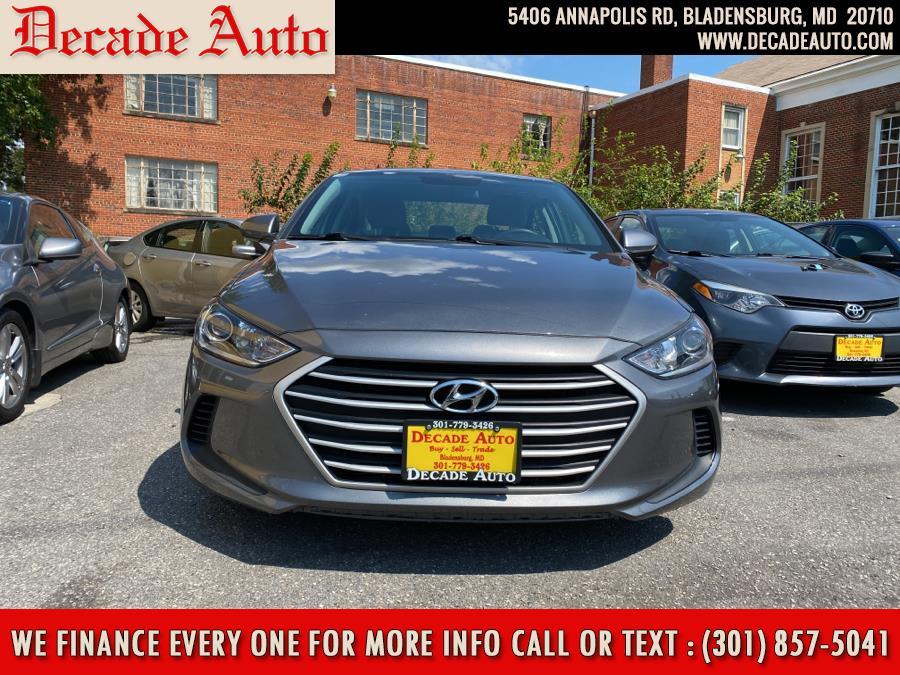 Used Hyundai Elantra SE 2.0L Auto (Alabama) 2018 | Decade Auto. Bladensburg, Maryland