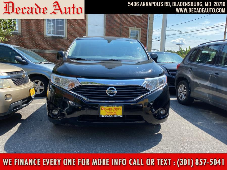 Used Nissan Quest 4dr SV 2012   Decade Auto. Bladensburg, Maryland