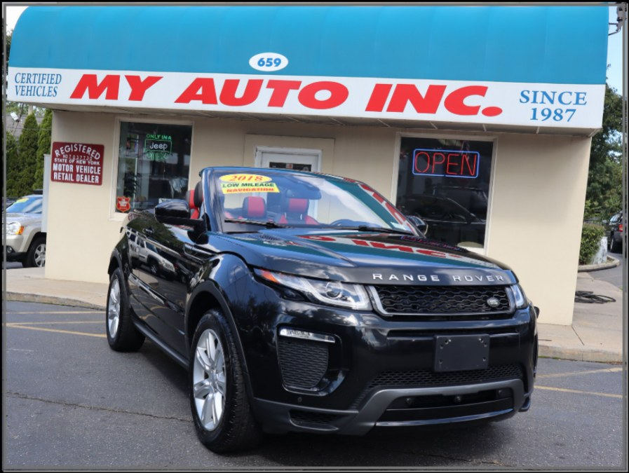 Used 2018 Land Rover Range Rover Evoque in Huntington Station, New York | My Auto Inc.. Huntington Station, New York