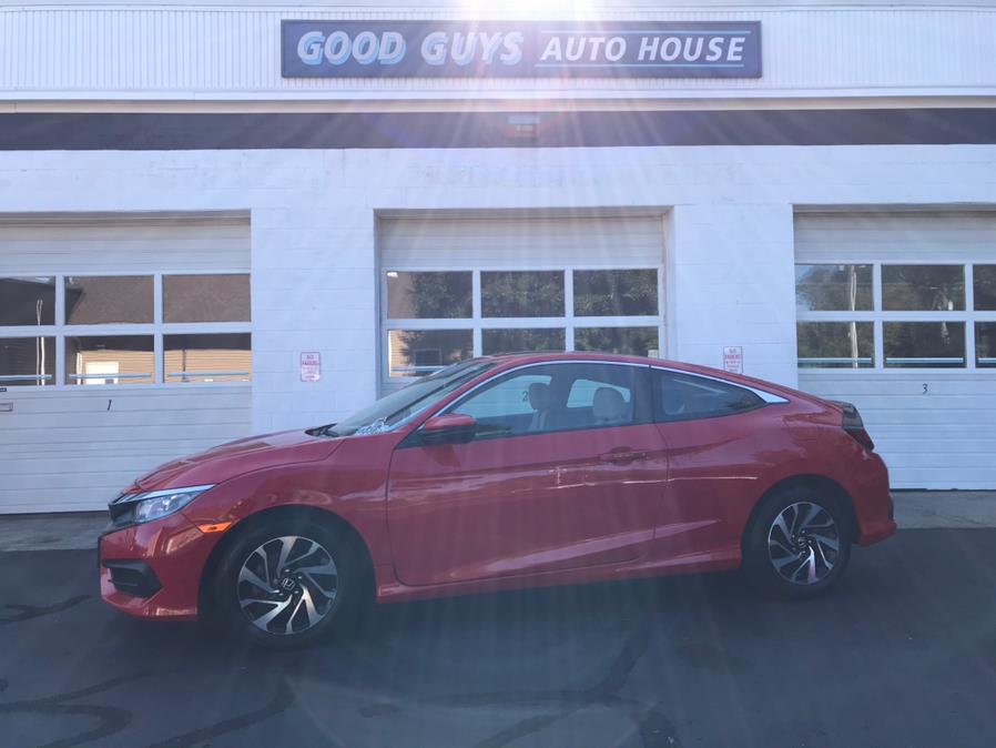 Used Honda Civic Coupe LX-P CVT 2017 | Good Guys Auto House. Southington, Connecticut