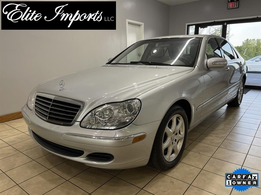 Used Mercedes-benz S-class S 500 2003 | Elite Imports LLC. West Chester, Ohio