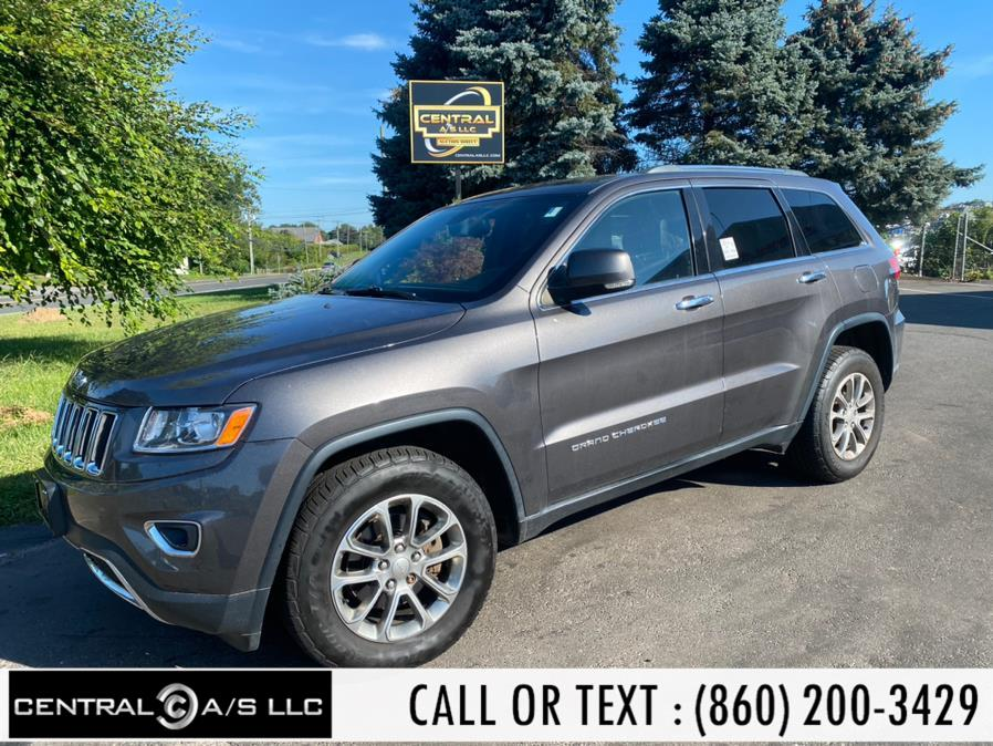 Used Jeep Grand Cherokee 4WD 4dr Limited 2014 | Central A/S LLC. East Windsor, Connecticut