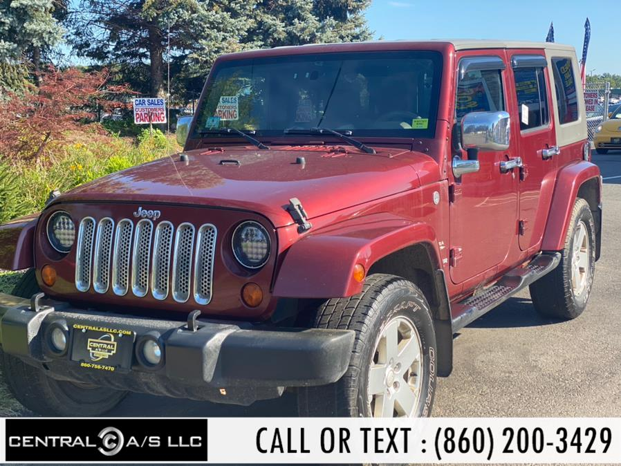 Used Jeep Wrangler 4WD 4dr Unlimited Sahara 2007 | Central A/S LLC. East Windsor, Connecticut