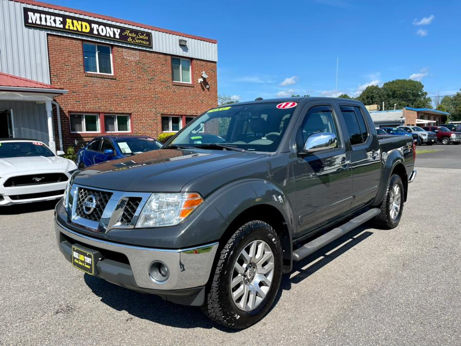 Used Nissan Frontier 4WD Crew Cab SWB Auto S 2013   Mike And Tony Auto Sales, Inc. South Windsor, Connecticut
