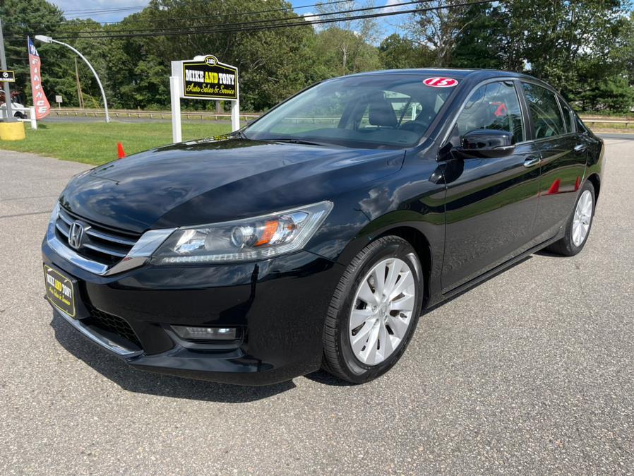 Used Honda Accord Sedan 4dr I4 CVT EX-L w/Navi 2015   Mike And Tony Auto Sales, Inc. South Windsor, Connecticut