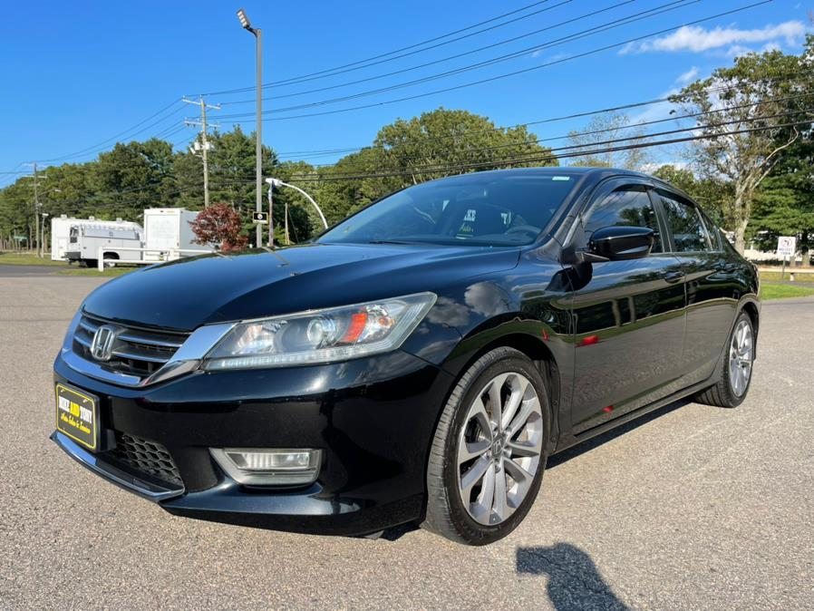 Used Honda Accord Sdn 4dr I4 CVT Sport PZEV 2013 | Mike And Tony Auto Sales, Inc. South Windsor, Connecticut