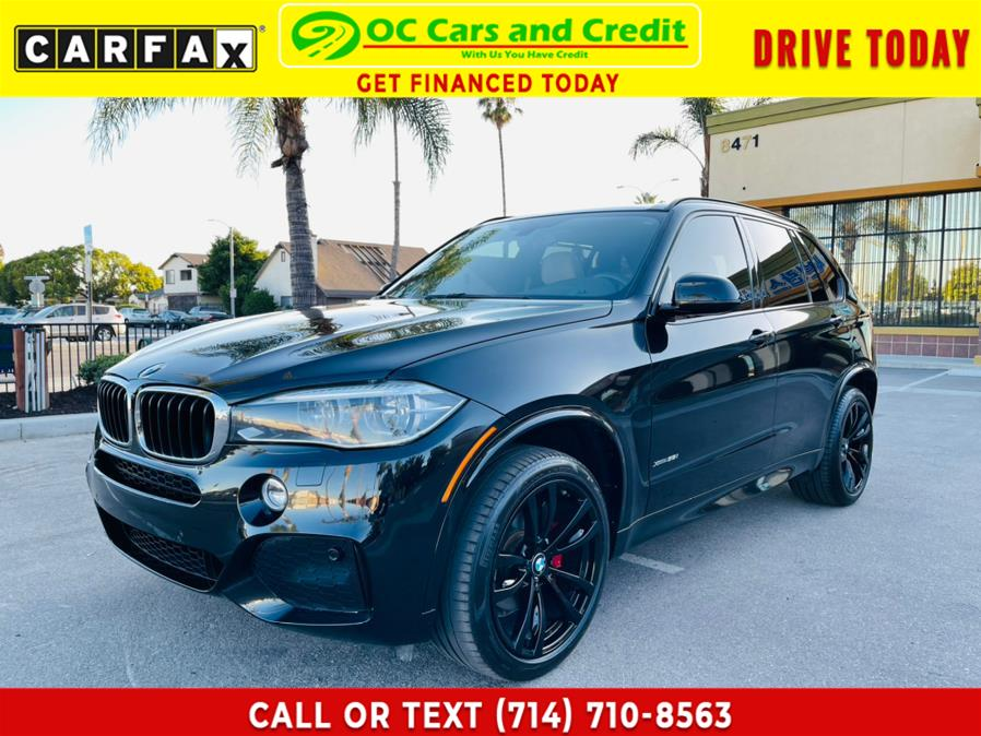 Used BMW X5 xDrive35i Sports Activity Vehicle 2017 | OC Cars and Credit. Garden Grove, California