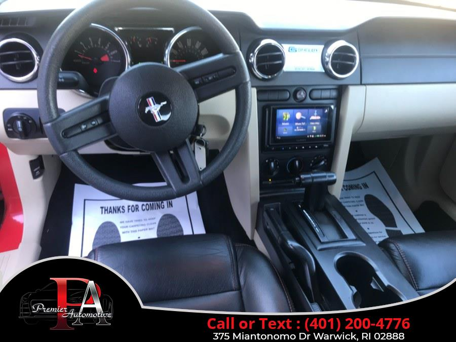 Used Ford Mustang 2dr Conv Standard 2006   Premier Automotive Sales. Warwick, Rhode Island