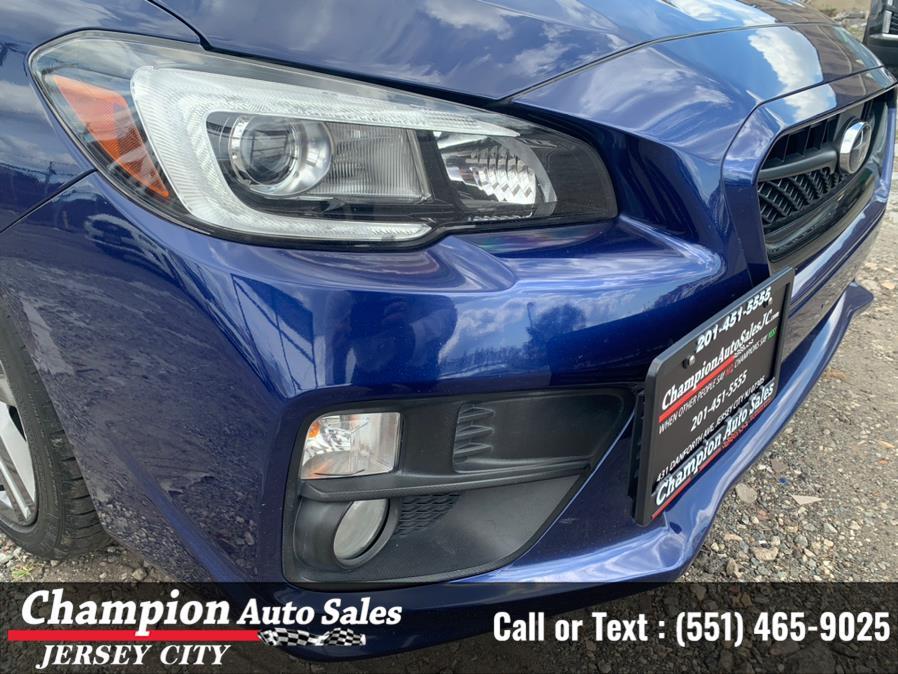Used Subaru WRX Limited Manual 2017   Champion Auto Sales. Jersey City, New Jersey