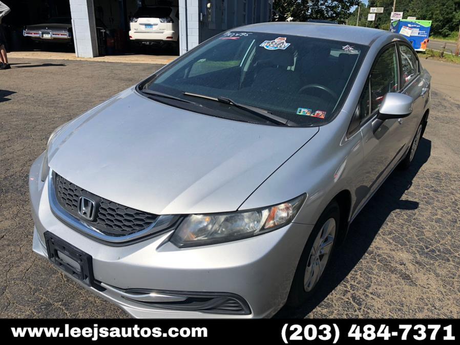 Used Honda Civic Sdn 4dr Auto LX 2013 | LeeJ's Auto Sales & Service. North Branford, Connecticut