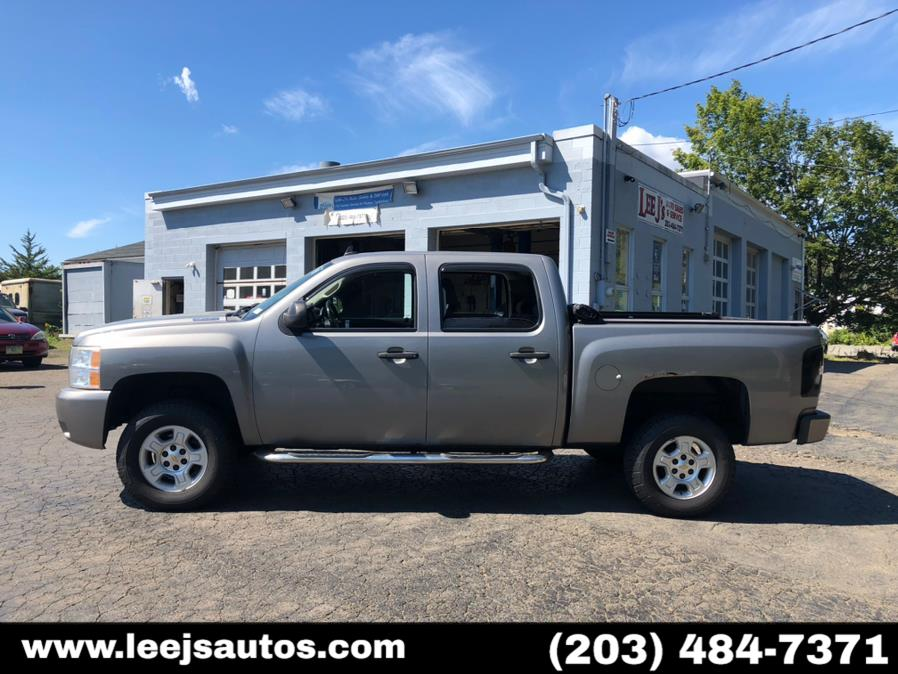 "Used Chevrolet Silverado 1500 4WD Crew Cab 143.5"" LTZ 2008   LeeJ's Auto Sales & Service. North Branford, Connecticut"