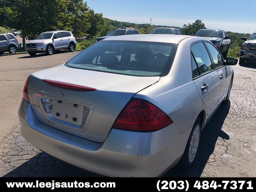 Used Honda Accord Sdn 4dr I4 AT VP 2007 | LeeJ's Auto Sales & Service. North Branford, Connecticut
