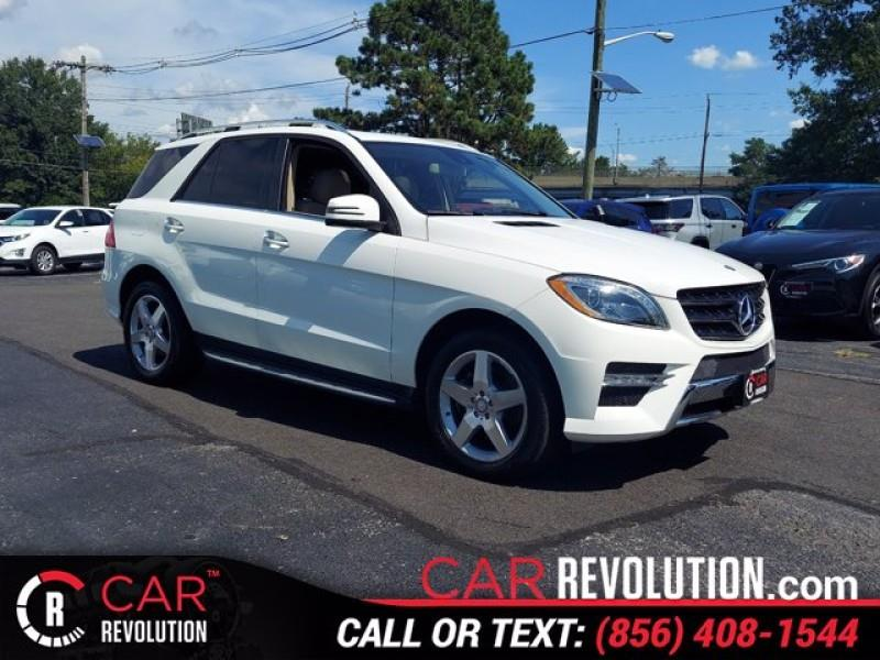 Used Mercedes-benz M-class ML 400 2015   Car Revolution. Maple Shade, New Jersey