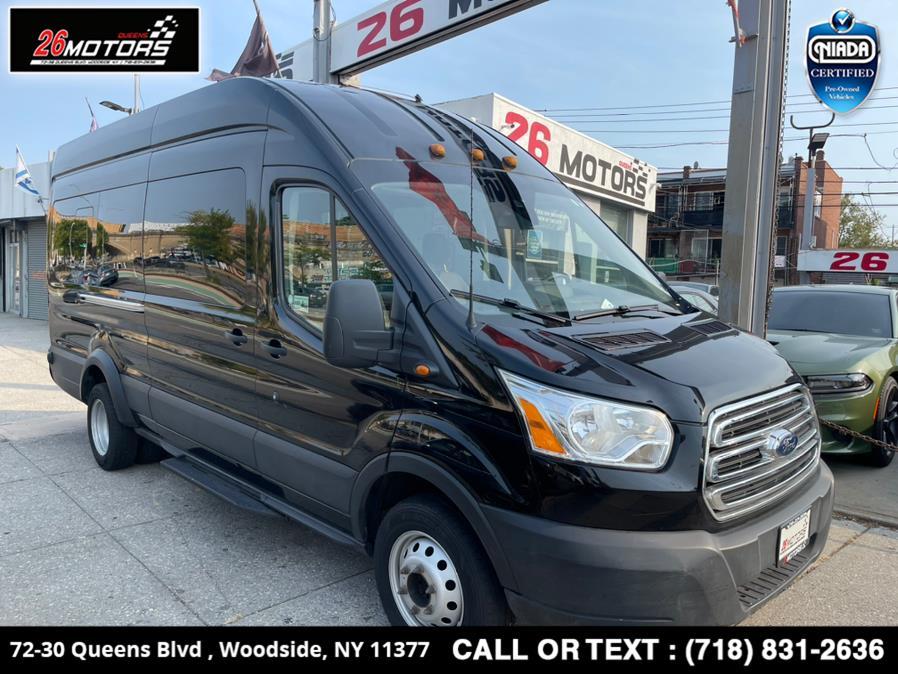 "Used Ford Transit Passenger Wagon T-350 148"" EL High Roof XLT Sliding RH Dr DRW 2019 | 26 Motors Queens. Woodside, New York"