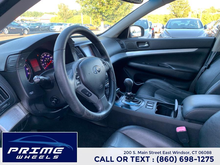 Used Infiniti G35 Sedan 4dr x AWD 2008 | Prime Wheels. East Windsor, Connecticut