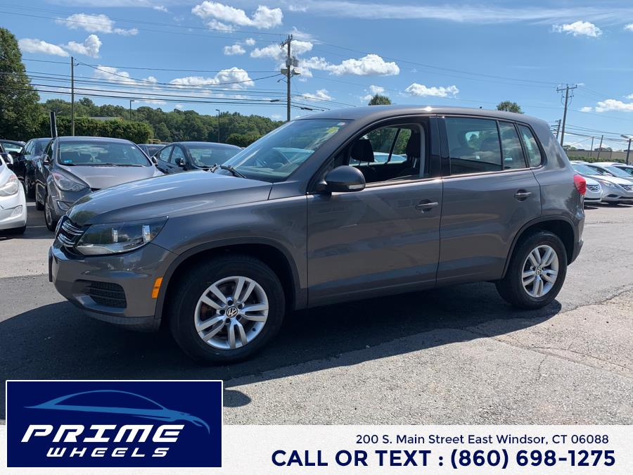 Used Volkswagen Tiguan 4WD 4dr Auto S 2012 | Prime Wheels. East Windsor, Connecticut