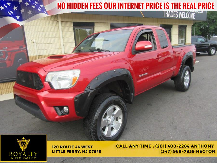 Used Toyota Tacoma 4WD Access Cab V6 AT (Natl) 2013 | Royalty Auto Sales. Little Ferry, New Jersey