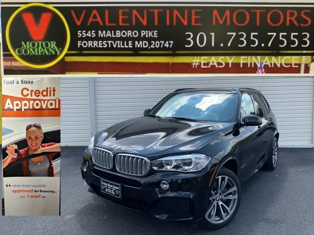 Used BMW X5 xDrive50i 2017   Valentine Motor Company. Forestville, Maryland