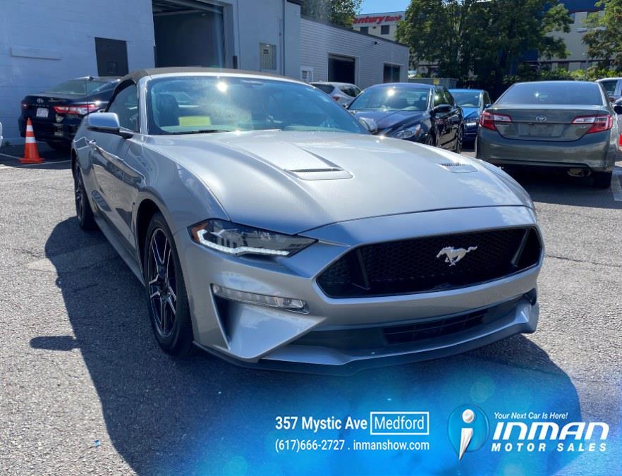 Used Ford Mustang EcoBoost Convertible 2020   Inman Motors Sales. Medford, Massachusetts