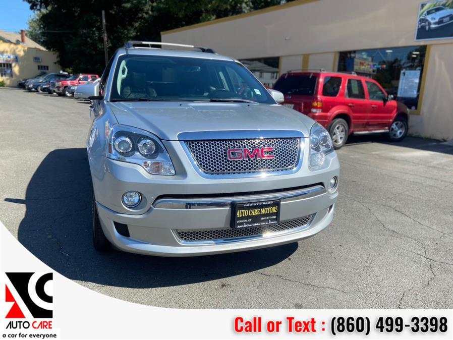 Used GMC Acadia AWD 4dr Denali 2012 | Auto Care Motors. Vernon , Connecticut