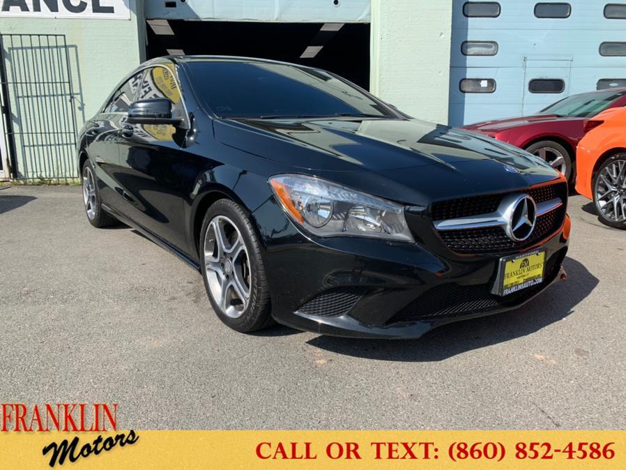Used 2014 Mercedes-Benz CLA-Class in Hartford, Connecticut | Franklin Motors Auto Sales LLC. Hartford, Connecticut