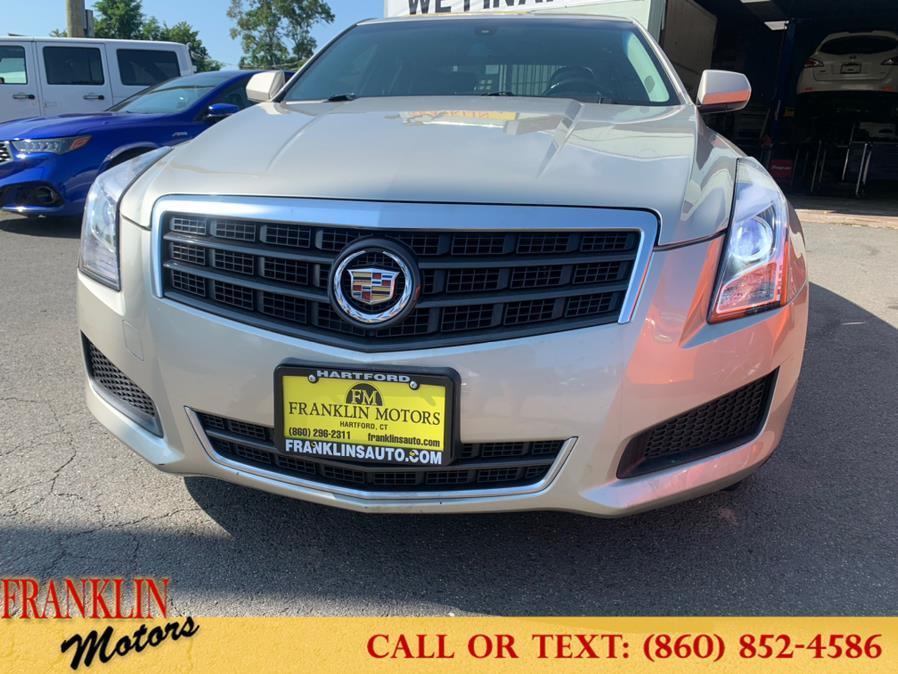 Used Cadillac ATS 4dr Sdn 2.0L AWD 2013   Franklin Motors Auto Sales LLC. Hartford, Connecticut