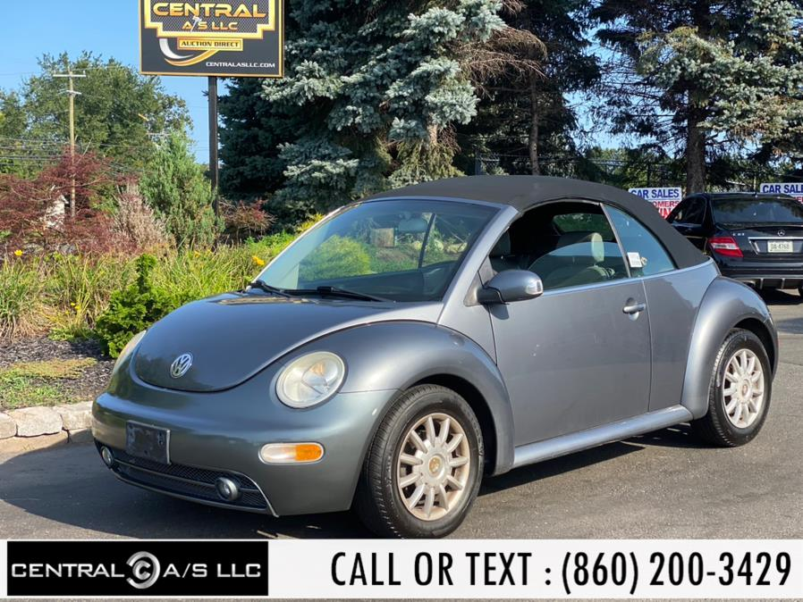 Used Volkswagen New Beetle Convertible 2dr GLS Auto 2005 | Central A/S LLC. East Windsor, Connecticut