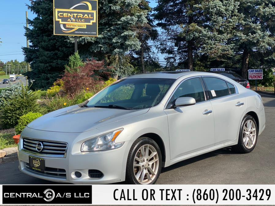 Used Nissan Maxima 4dr Sdn 3.5 SV 2013 | Central A/S LLC. East Windsor, Connecticut