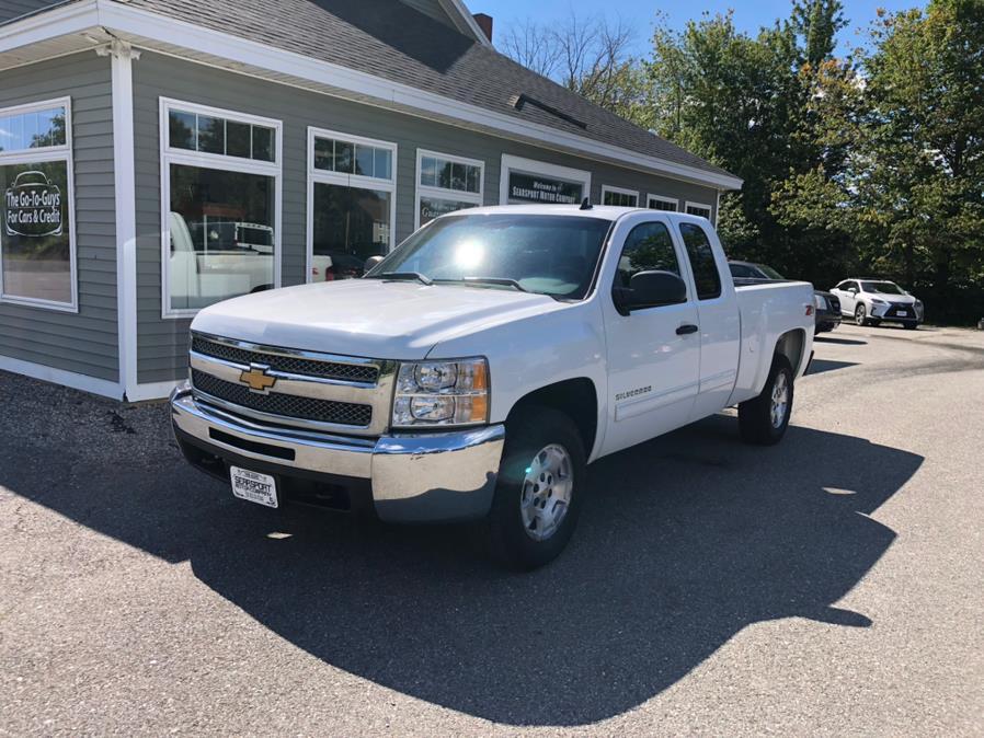 "Used Chevrolet Silverado 1500 4WD Ext Cab 143.5"" LT 2013   Searsport Motor Company. Searsport, Maine"