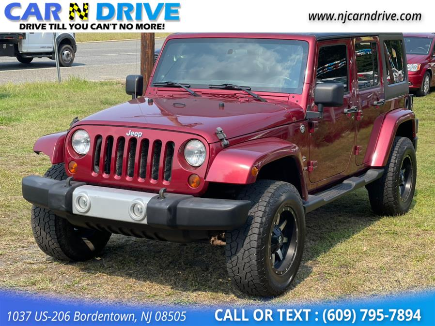 Used Jeep Wrangler Unlimited Sahara 4WD 2011 | Car N Drive. Bordentown, New Jersey