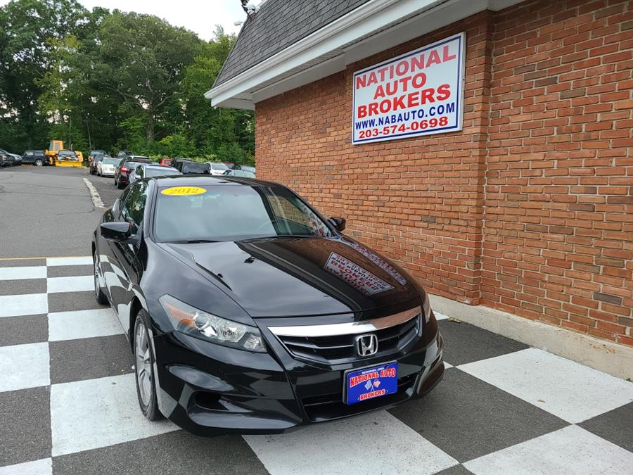 Used Honda Accord Cpe 2dr Man EX 2012 | National Auto Brokers, Inc.. Waterbury, Connecticut