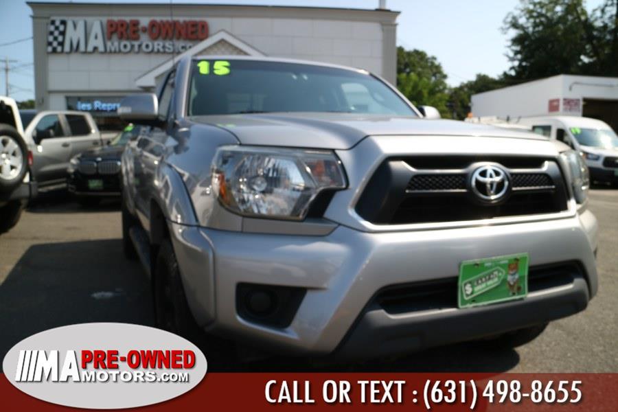 Used Toyota Tacoma manual 4WD Access Cab I4 AT (Natl) 2015 | M & A Motors. Huntington, New York