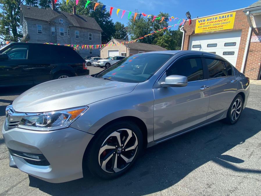 Used Honda Accord Sedan EX-L CVT w/Navi & Honda Sensing 2017   VEB Auto Sales. Hartford, Connecticut