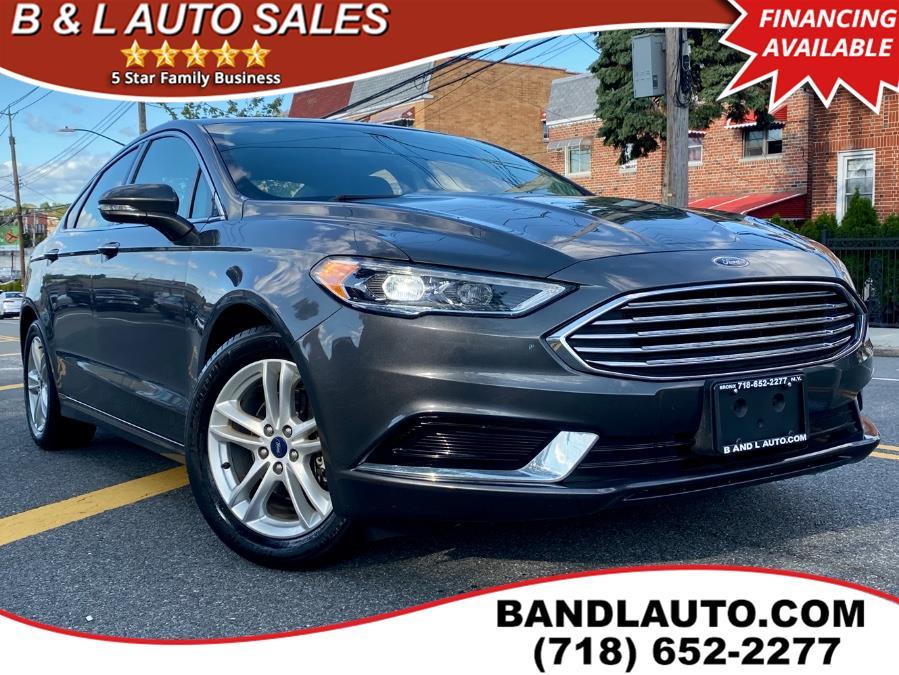 Used 2018 Ford Fusion in Bronx, New York | B & L Auto Sales LLC. Bronx, New York