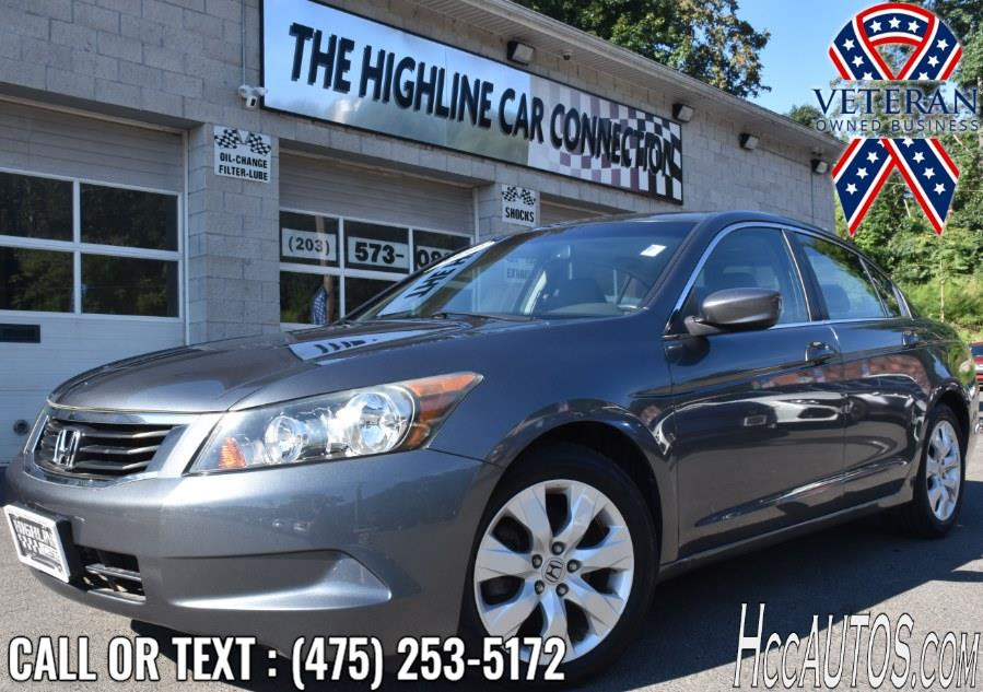 Used Honda Accord Sdn 4dr I4 Auto EX-L 2010 | Highline Car Connection. Waterbury, Connecticut