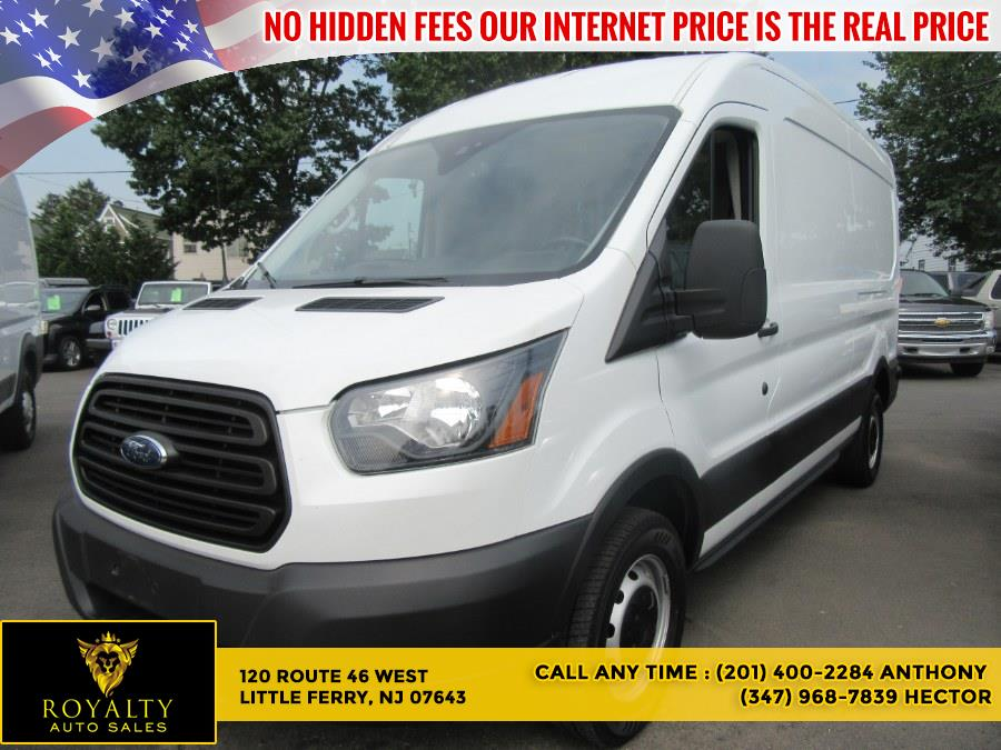 """Used Ford Transit Van T-250 148"""" Med Rf 9000 GVWR Sliding RH Dr 2019   Royalty Auto Sales. Little Ferry, New Jersey"""