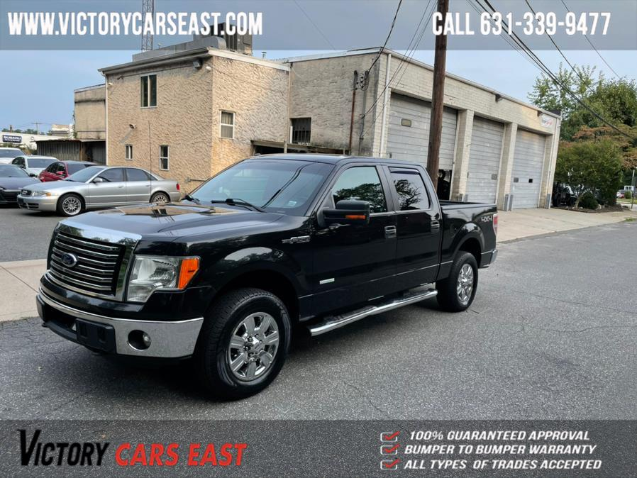 "Used Ford F-150 4WD SuperCrew 157"" XLT 2012 | Victory Cars East LLC. Huntington, New York"
