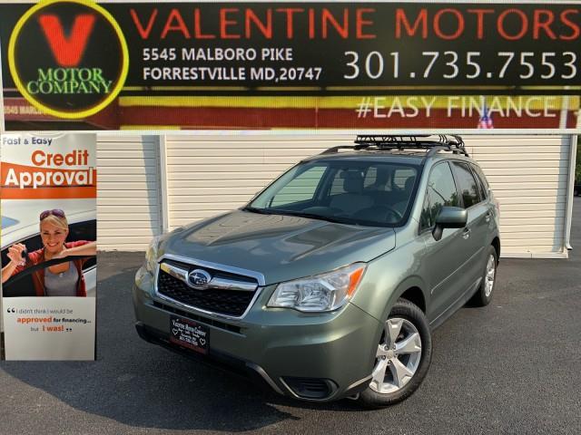 Used Subaru Forester 2.5i Premium 2014   Valentine Motor Company. Forestville, Maryland