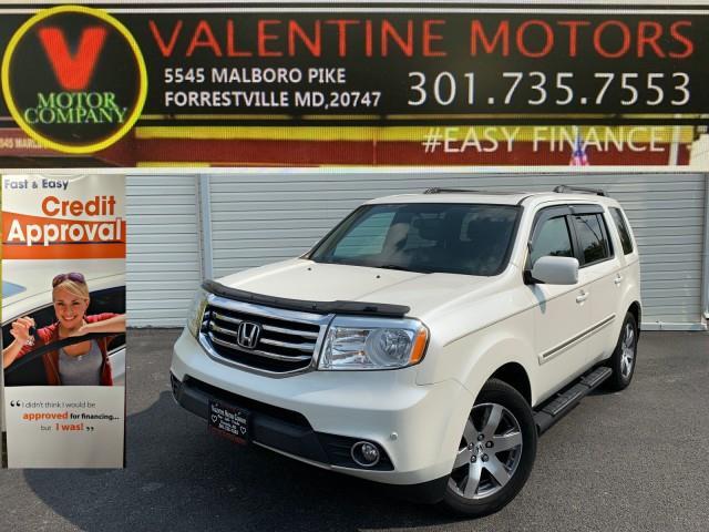 Used Honda Pilot Touring 2014   Valentine Motor Company. Forestville, Maryland