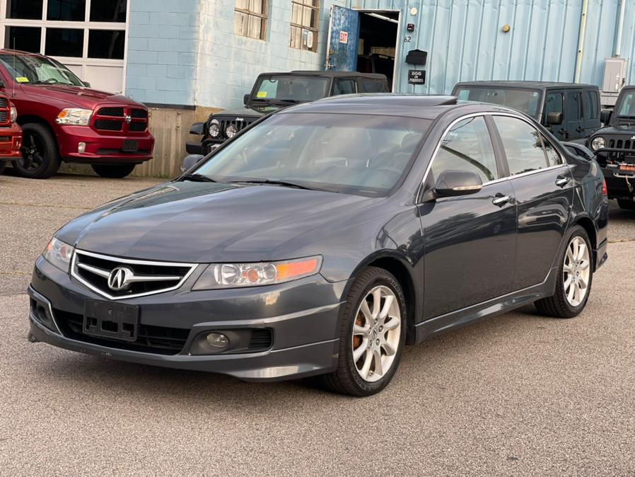 Used Acura TSX 4dr Sdn Auto Nav 2008 | New Beginning Auto Service Inc . Ashland , Massachusetts