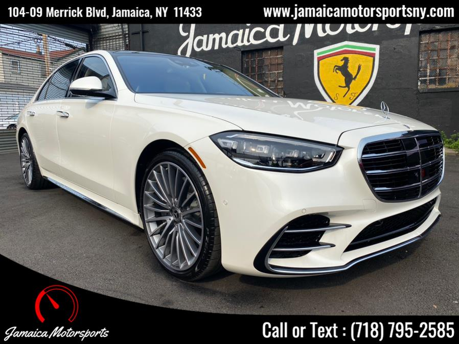 Used 2021 Mercedes-Benz S-Class in Jamaica, New York   Jamaica Motor Sports . Jamaica, New York