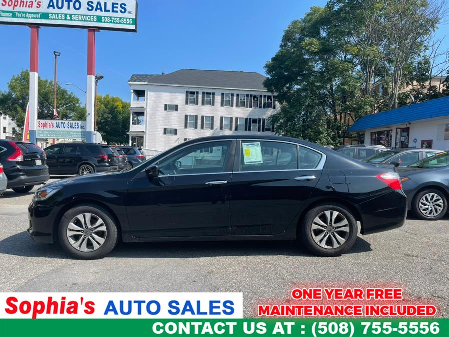 Used 2015 Honda Accord Sedan in Worcester, Massachusetts | Sophia's Auto Sales Inc. Worcester, Massachusetts