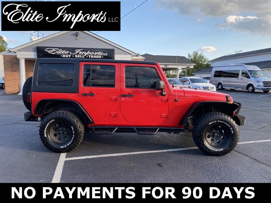 Used Jeep Wrangler Jk Unlimited Sport 2018   Elite Imports LLC. West Chester, Ohio