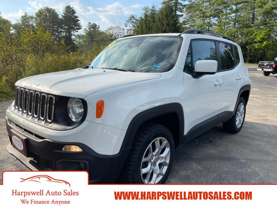 Used Jeep Renegade Latitude 4x4 2017 | Harpswell Auto Sales Inc. Harpswell, Maine