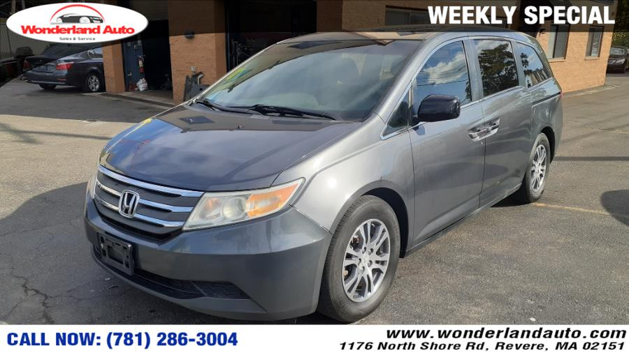 Used 2012 Honda Odyssey in Revere, Massachusetts | Wonderland Auto. Revere, Massachusetts
