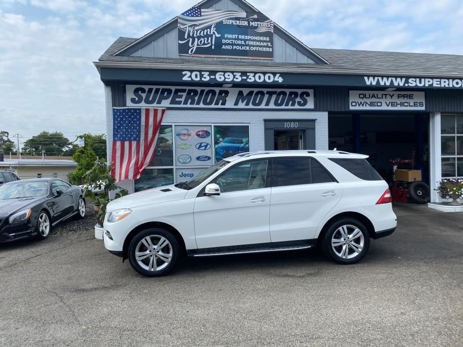 Used 2014 Mercedes-Benz ML350 in Milford, Connecticut   Superior Motors LLC. Milford, Connecticut