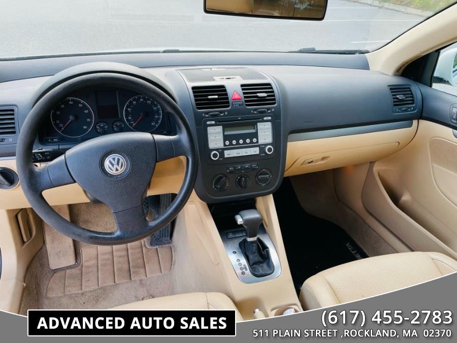 Used Volkswagen Jetta Sedan 4dr Auto Wolfsburg Edition PZEV 2007 | Advanced Auto Sales. Rockland, Massachusetts